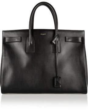 Saint Laurent - Sac De Jour Medium Leather Tote - Black