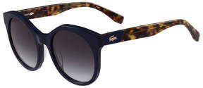 Lacoste Women's Vintage Inspired Round Sunglasses