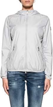 Colmar Gray/fuchsia Hooded Reverse Jacket