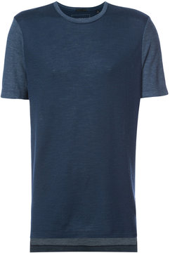 ATM Anthony Thomas Melillo contrast sleeve T-shirt