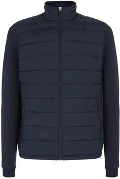 Hackett Quilted Front Zip Jacket