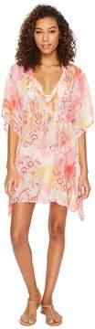 Echo Seaside Floral Silky Butterfly Women's Clothing