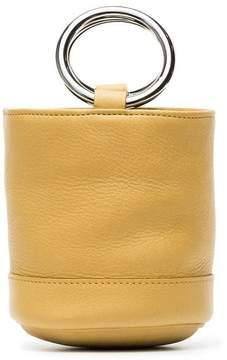 Simon Miller Yellow leather Bonsai small bucket bag