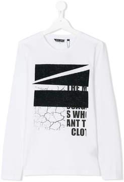 Antony Morato graphic print long sleeve T-shirt
