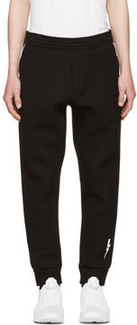 Neil Barrett Black and White Piping Lounge Pants