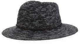 Vince Camuto Cotton Slub Yarn Pattern Hat