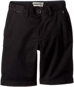 Billabong Kids Carter Stretch Shorts Boy's Shorts