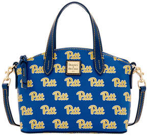 Dooney & Bourke Pittsburgh Panthers Ruby Mini Satchel Crossbody - BLUE - STYLE