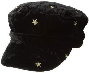 BCBGeneration Metallic Star Cadet Caps