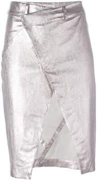 A.F.Vandevorst open front pencil skirt