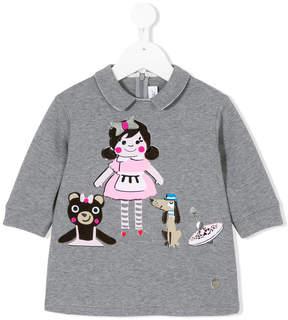 Simonetta peter pan collar T-shirt
