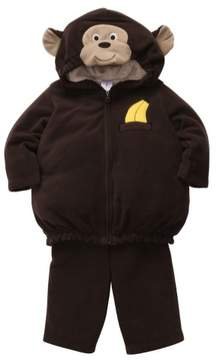 Carter's Infant Monkey Costume Baby Boys Girls Hoody Jacket Sweat Pants 12m