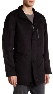 Bugatchi Long Sleeve Button Collar Jacket