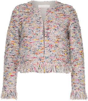 ESTNATION embroidered cardi-top