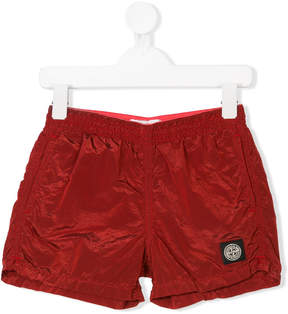 Stone Island Junior elasticated swim shorts