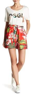 Desigual Flores Patterned Shorts