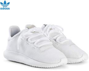 adidas White Tubular Shadow Kids Trainers