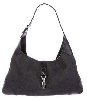 Gucci Denim Jackie Hobo - BLACK - STYLE