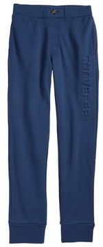 Converse Boy's Conveerse Embossed Logo Sweatpants