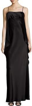 ABS by Allen Schwartz Women's Draped Satin Gown