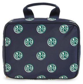 Tory Burch Quinn Print Hanging Cosmetic Case