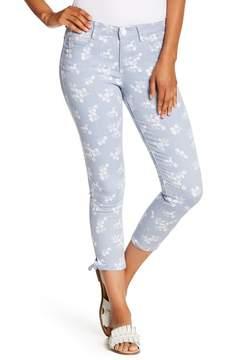Democracy AB Tech Croped Printed Skinny Pants