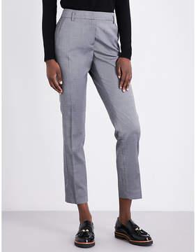 Claudie Pierlot Persan straight gabardine trousers