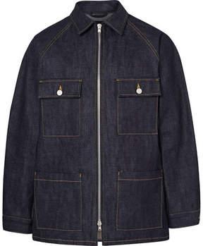 Fear Of God Raw Selvedge Denim Zip-Up Jacket