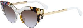 Safilo USA Fendi 0178 Cat Eye Sunglasses