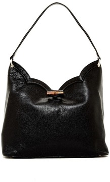 ERIC JAVITS Tia Leather Shoulder Bag