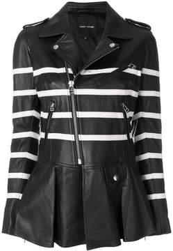 Each X Other striped biker jacket