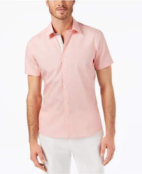 Ryan Seacrest Distinction Men's Slim-Fit Geometric-Print Sport Shirt, Created for Macy's