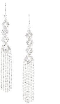 Cezanne Faux-Crystal Fringe Statement Earrings
