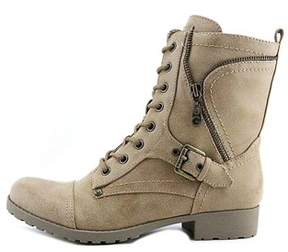 G by Guess Womens Brylee Closed Toe Mid-calf Combat Boots.