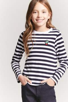 Forever 21 Girls Stripe Top (Kids)