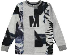Molo Romus Long-Sleeve T-Shirt, Size 4-12