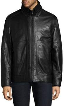 Andrew Marc Trail Master Leather Jacket