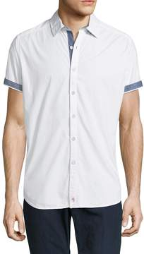 Robert Graham Men's Tails Cotton Sportshirt