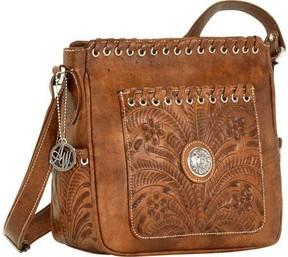 American West Harvest Moon Cross Body Bag Pockets (Women's)