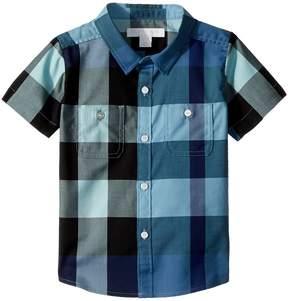 Burberry Mini Camber Short Sleeve Check Shirt Boy's Clothing