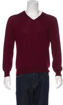 Ralph Lauren Purple Label Merino Wool & Cashmere Sweater