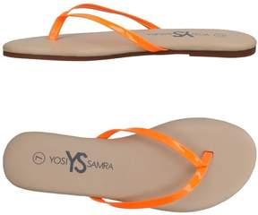 Yosi Samra Toe strap sandals