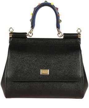 Dolce & Gabbana Mini Sicily Tote - BLACK - STYLE