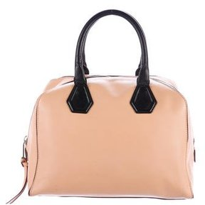 Rebecca Minkoff Leather Handle Bag - NEUTRALS - STYLE
