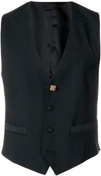 Lardini button waistcoat