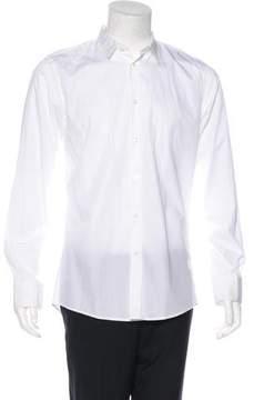 Bottega Veneta Woven Button-Up Shirt