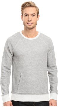 Agave Denim Bagby Long Sleeve French Terry Men's Long Sleeve Pullover