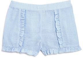 Design History Girls' Ruffled Seersucker Shorts - Little Kid