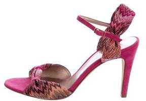 Missoni Knit Multistrap Sandals