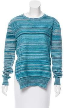 Baja East Mélange Crew Neck Sweater